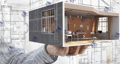 طراحی و نقشه کشی سه بعدی با نرم افزار رویت(معماری)
