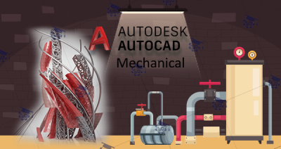 دوره آموزش نقشه کشی تاسیسات بمکانیک با نرم افزار AutoCad